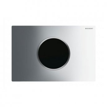 Geberit Sigma10 Mains Operated and Touchless Flush Plate for Cistern, Chrome
