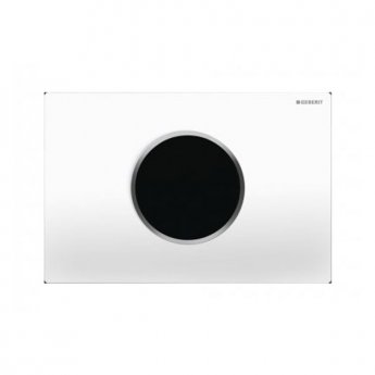 Geberit Sigma10 Mains Operated and Touchless Flush Plate for Cistern, White