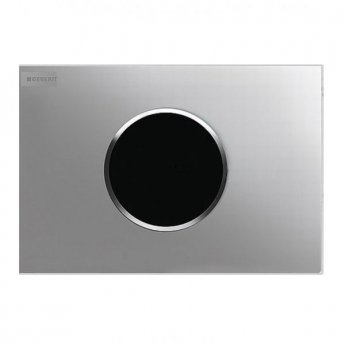 Geberit Sigma10 Battery Operated and Touchless Flush Plate for Cistern, Bright Chrome