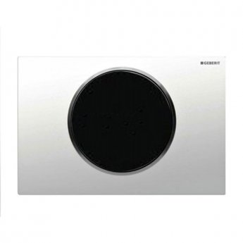 Geberit Sigma10 Battery Operated and Touchless Flush Plate for Cistern, White