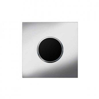 Geberit Sigma 10 Hytouch Mains Powered Infra-Red Urinal Flushing Control - Chrome matt