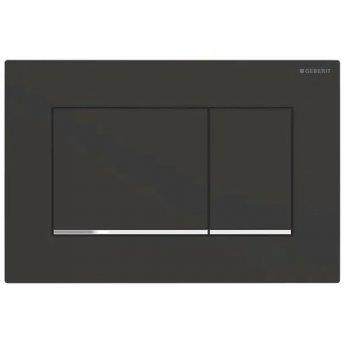 Geberit Sigma30 Dual Flush Plate - Matt Black