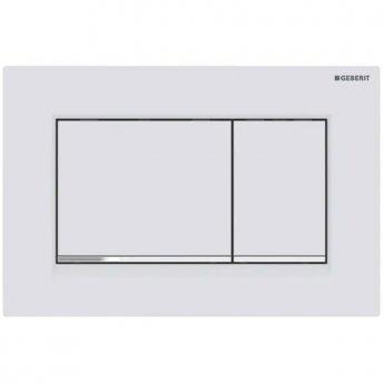 Geberit Sigma30 Dual Flush Plate - Matt White