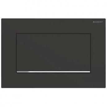 Geberit Sigma30 Single Flush Plate - Matt Black