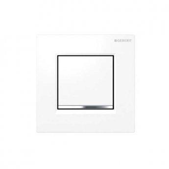 Geberit Sigma30 Urinal Flush Pneumatic - White/Chrome