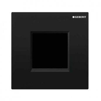Geberit Sigma30 Urinal Flush Electronic Mains - Black/Chrome