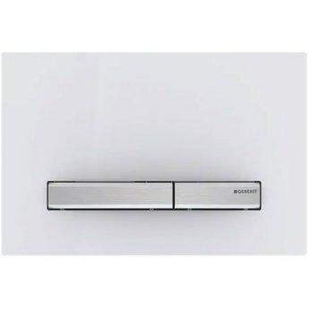 Geberit Sigma50 Dual Flush Plate - White Alpine