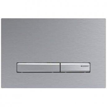 Geberit Sigma50 Dual Flush Plate - Brushed Chrome