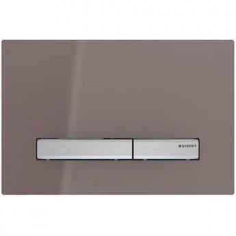 Geberit Sigma50 Dual Flush Plate - Umber