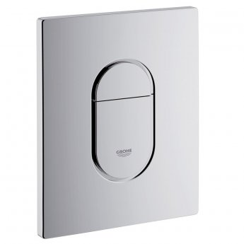 Grohe Arena Cosmopolitan Dual Flush Plate - Chrome