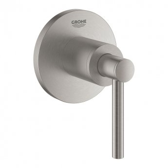 Grohe Atrio Concealed Stop Valve Trim with Lever Handles - Supersteel