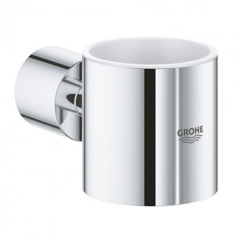 Grohe Atrio Bathroom Glass Holder - Chrome