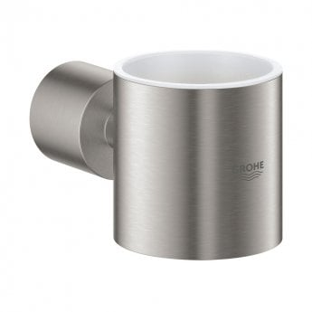 Grohe Atrio Glass Holder - Supersteel
