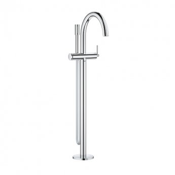 Grohe Atrio Free Standing Bath Shower Mixer Tap - Chrome