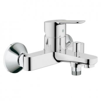 Grohe BauEdge Single Lever Bath Shower Mixer Tap - Chrome