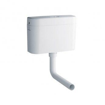 Grohe Adagio 6 Litre Cistern, Flush Pipe & Connector Bottom Inlet