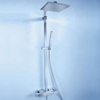 Grohe Euphoria Cube XXL Bar Mixer Shower with Shower Kit + Fixed Head