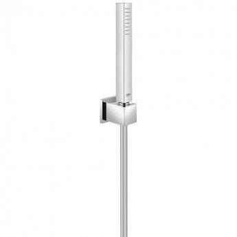 Grohe Euphoria Cube Pencil Handset and Holder Single Spray Pattern - Chrome