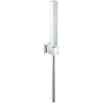 Grohe Euphoria Cube Shower Handset with Shower Holder and 1500mm Hose - Chrome