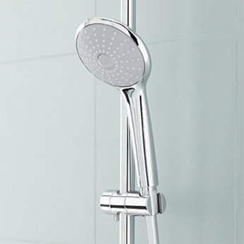 Grohe Euphoria Rain Shower Kit, 600mm Rail 2 Sprays Pattern - Chrome