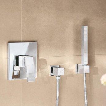 Grohe Eurocube Concealed Shower Valve Trim, Chrome