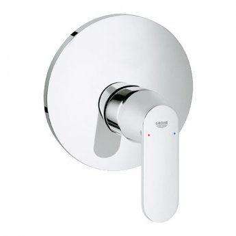 Grohe Eurosmart Cosmo Concealed Shower Valve Trim, Chrome