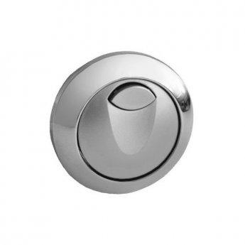 Grohe Eau2 Dual Button Flush Plate, Chrome