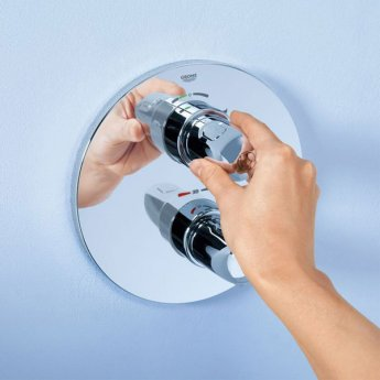 Grohe Grohtherm 1000 Thermostatic Shower Mixer Trim - Chrome