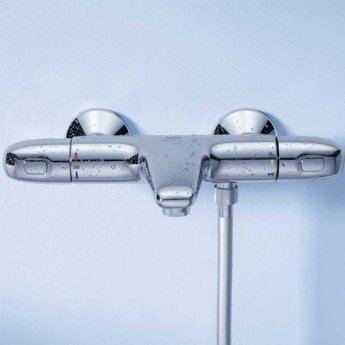 Grohe Grohtherm 1000 New Thermostatic Bath Shower Mixer, Chrome