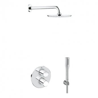 Grohe Grohtherm 3000 Cosmopolitan Shower Solution Pack 4 - Chrome