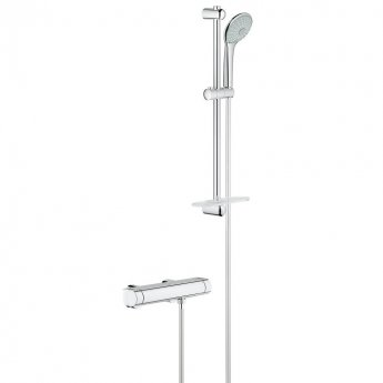 Grohe Grohtherm 2000 Bar Mixer Shower with Basic Shower Kit