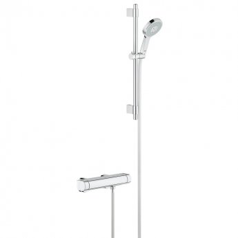 Grohe Grohtherm 2000 Bar Mixer Shower with Modern Shower Kit