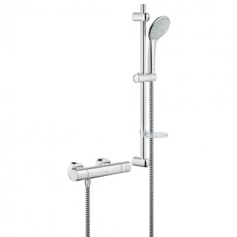 Grohe Grohtherm 1000 Cosmopolitan HP Bar Mixer Shower with Shower Kit