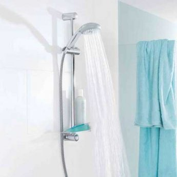 Grohe New Tempesta 600mm Shower Rail - Chrome