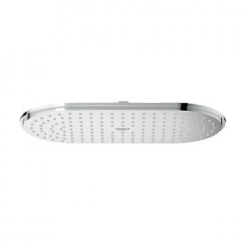 Grohe Ondus Veris Fixed Shower Head, 300mm x 150mm, Chrome