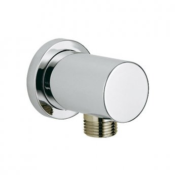 Grohe Rainshower Shower Union, Round Collar, Chrome