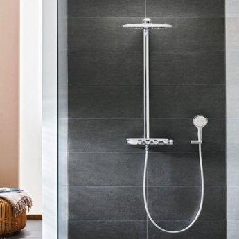 Grohe Rainshower SmartControl Bar Mixer Shower with Shower Kit + Fixed Head