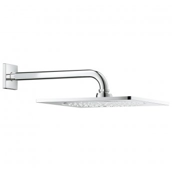 Grohe Rainshower F Series Shower Head with Arm - Chrome
