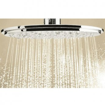 Grohe Rainshower Cosmopolitan 210 Ceiling Mounted Shower Head set - Chrome