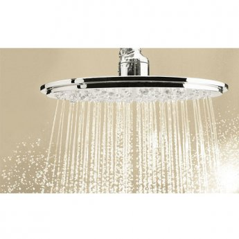 Grohe Rainshower Cosmo Large Fixed Shower Head, Chrome