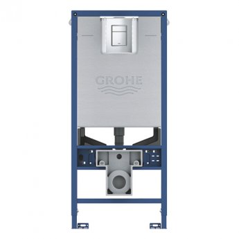 Grohe Rapid SLX 3 in 1 WC Toilet Fixing Frame with Cistern and Flush Plate 1130mm High