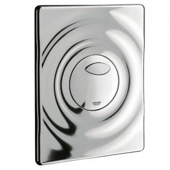 Grohe Surf Dual Flush Plate Wall Mounted - Chrome