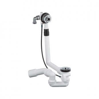 Grohe Talentofill Pop Up Bath Waste and Overflow - 370mm Reach