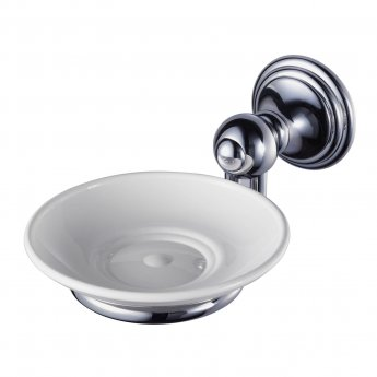 Haceka Allure Soap Dish Holder - Chrome