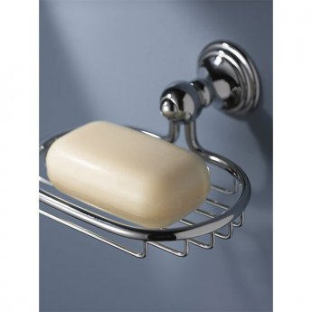 Haceka Allure Wire Soap Holder, Chrome