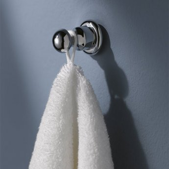 Haceka Allure Robe Towel Hook - Chrome