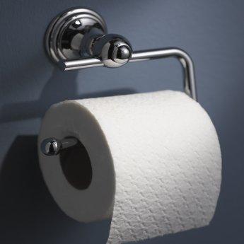 Haceka Allure Toilet Roll Holder, Chrome
