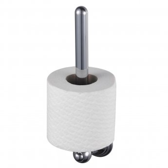 Haceka Allure Spare Toilet Roll Holder, Chrome