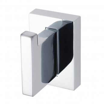 Haceka Edge Modern Robe Hook - Chrome