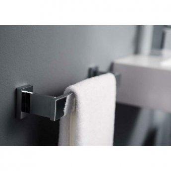 Haceka Edge Towel Rail, 328mm Wide, Chrome